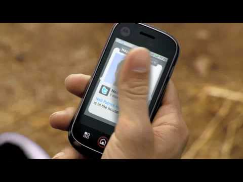 Motorola CLIQ™ with MOTOBLUR TV Commercial