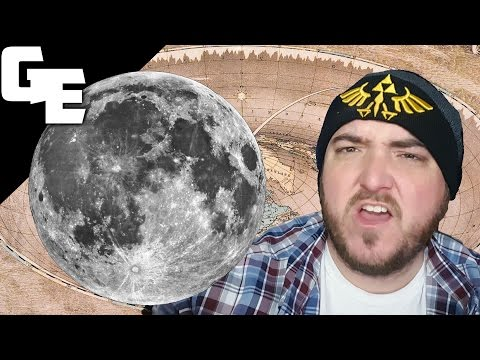 Moon Phases Explained by a Flat Earther Stinky Cash || Debunking Flat Earth thumbnail