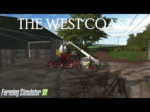 LEASING A TRACTOR, PUSHING ON WITH THE WHEAT AND DRILLING OSR | THE WEST COAST - EP30 | FS17