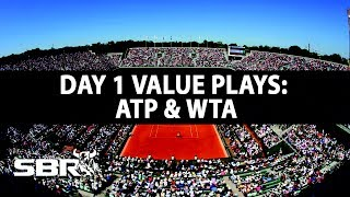 French Open 2017 | WTA & ATP Tennis Bets |  Day 1