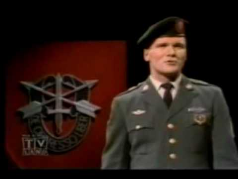 Staff Sergeant Barry Sadler - Ballad Of The Green Berets