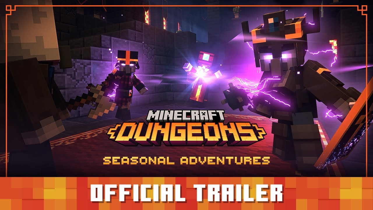 Minecraft Dungeons: Seasonal Adventures – Official Trailer