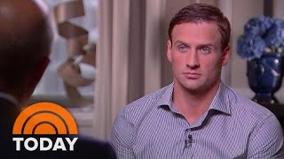 Ryan Lochte: 'My Immature, Intoxicated Behavior Tarnished' A 'Great' Games (Full Interview) | TODAY by : TODAY