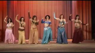 Студия АЛЬ-ДИГОРА - танец с платками (рук. Марианна)