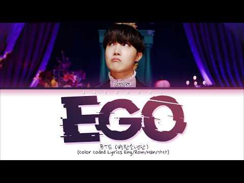 BTS J-HOPE - Outro : Ego (Color Coded Lyrics Eng/Rom/Han/가사)