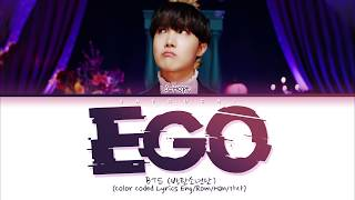 BTS J-HOPE - Outro : Ego (Color Coded Lyrics Eng/Rom/Han/가사)