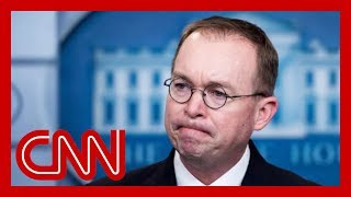 Sources: Mick Mulvaney on shaky ground in wake of whistleblower fallout