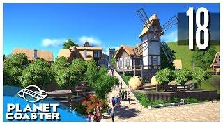Planet Coaster - Ep.18 : Farms & Windmill