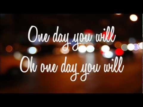Lady Antebellum - One Day You Will (Lyrics on screen)