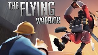 Team Fortress 2 Gameplay | Flying Warrior Demo