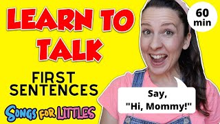 First Sentences for Toddlers | Learn to Talk | Toddler Speech Delay | Speech Practice Video English