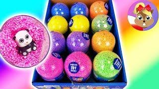 *NOWOŚĆ* 12 piankowych jajek niespodzianek ze zwierzaczkami