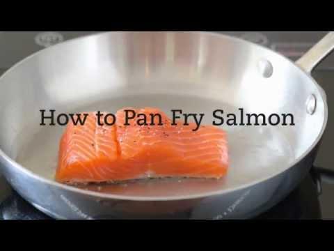 How To Pan Fry Salmon
