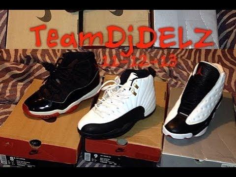 Original OG Nike Air Jordan 11-12-13 Sneakers With @DjDelz  (1995-1997)