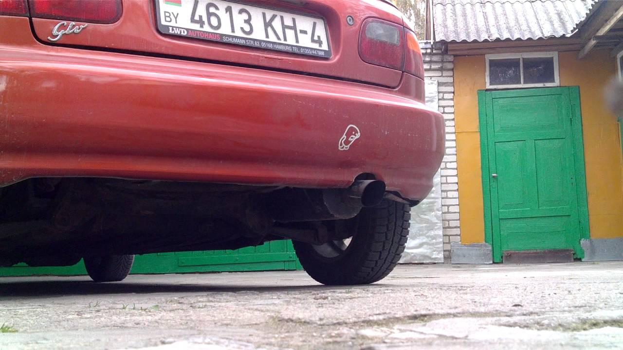 новая выхлопная Civic 1.4 dualcarb