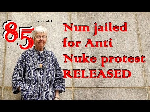 SFi009 - 85 yr old Anti-Nuke Nun released from Jail