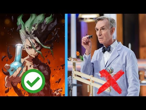 How Dr. Stone Gets IFL Science Entertainment Right