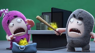 Oddbods Full Episodes - BANK ROBBERY | NEW | Oddbods & Friends
