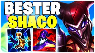 DER BESTE Shaco Spieler Top Lane | Noway4u Highlights LoL