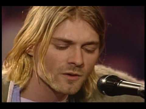 Nirvana - Jesus Doesn't Want Me for a Sunbeam - MTV Unplugged In New York