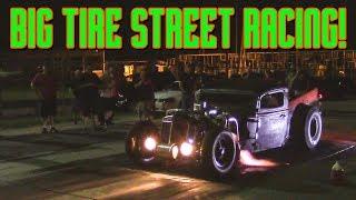 STREET RACING Big Tire Monsters, Turbo Rat Rod, 2500hp Firebird, Nitrous Camaro and more!