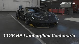 How Fast Will It Go? 2016 Lamborghini Centenario LP 770-4 (Forza Motorsport 7)
