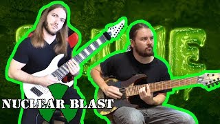RINGS OF SATURN – Pustules (OFFICIAL GUITAR PLAYTHROUGH)