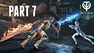 Skyforge Ps4 Walkthrough Part 7 - Nerion's Castle Co-Op Live (Ps4 Pro Gameplay)