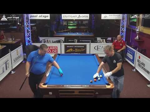Stuttgart Open 2017, No. 15, Danilo Radunovic vs. Ralph Schachner, 10-Ball, Pool-Billard