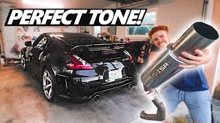 The PERFECT 370Z/350Z EXHAUST... More Testing (Exhaust Install On The NISMO)