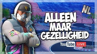 ROAD TO 3K + GIVEAWAY! AlleenMaarGezelligheid! Fortnite NL Streampie