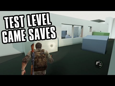 The Last of Us - TEST LEVEL Game Saves Download! (WORKS ON ANY PS3)