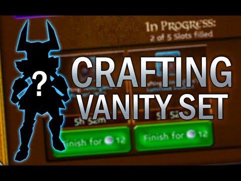Arcane Legends | Crafting Vanity Set!