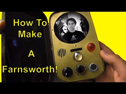 How to Make a Farnsworth from Warehouse 13  YouTube