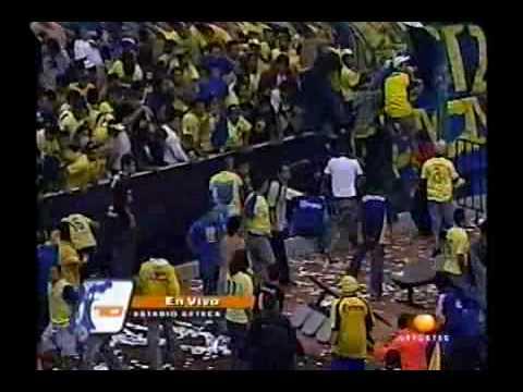América vs San Caetano: La Violencia en el Estadio Azteca 2004