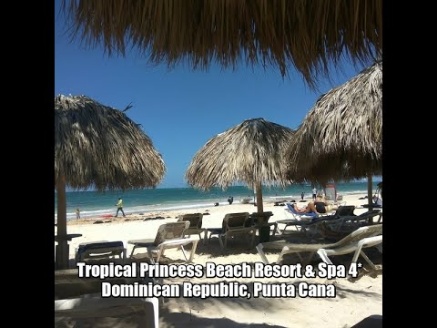 Tropical Princess Beach Resort & Spa 4*, Dominican Republic, Punta Cana.