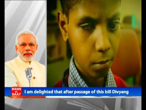 New bill will usher a paradigm shift in empowering Divyang sisters and brothers: PM