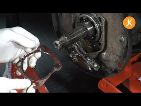 How to replace the rear hub oil seal on a VW Beetle (1/3)