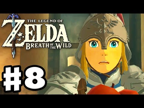 Hateno Village and Dye Shop! - The Legend of Zelda: Breath of the Wild - Gameplay Part 8