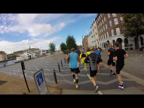 /tri club denmark - KMD Ironman Copenhagen løberute 2017