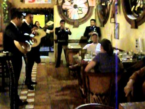 Mariachi Band at Jalisco Mexican Restaurant