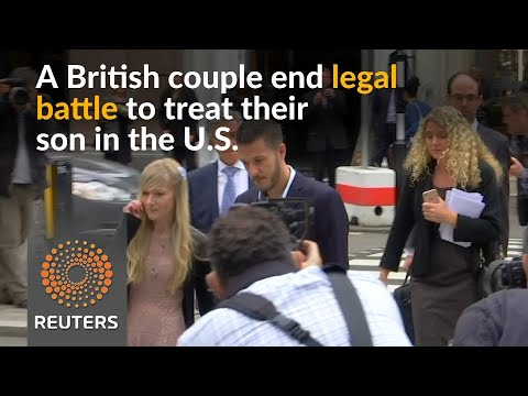Parents of UK baby Charlie Gard end legal battle over treatment