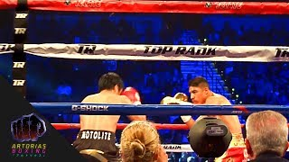 Manny Pacquiao vs Jessie Vargas (Ring Side + Knockdown)