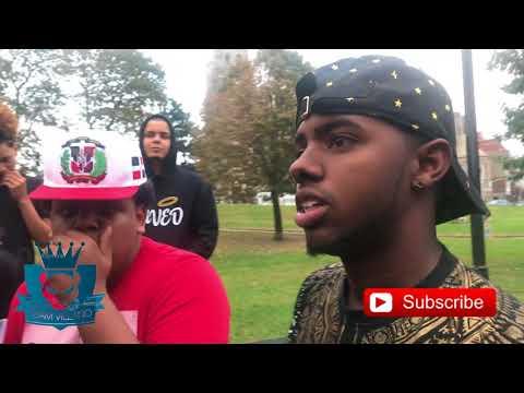 Alex rap VS Solpresa freestyle devoe park  BRONX NYC