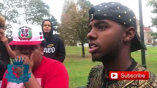 Gambar cover Alex rap VS Solpresa freestyle devoe park  BRONX NYC
