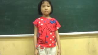Hải Hà, học sinh lớp 1, IQ Hưng Yên tính toán siêu tốc