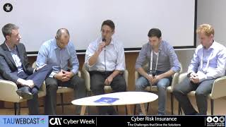 Panel: Innovation & Technology for Cyber Insurance