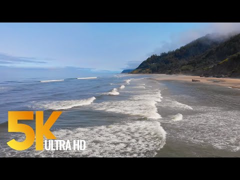 4K Pacific Northwest. Part #2 - Coastal Oregon - 3 HOUR Relaxation Video