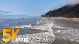4K Pacific Northwest. Part #2 - Coastal Oregon - 3 HOUR Relaxation Video
