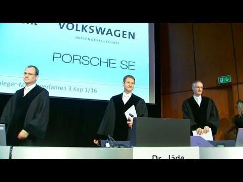 Investidores levam VW a tribunal e exigem indemnizações